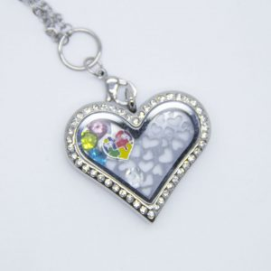 I love Autism Heart Necklace